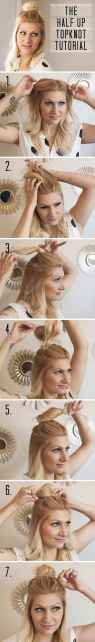 Hairstyles diy and tutorial for all hair lengths 021   fashion