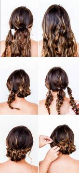Hairstyles diy and tutorial for all hair lengths 027 | fashion