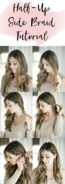 Hairstyles diy and tutorial for all hair lengths 032 | fashion