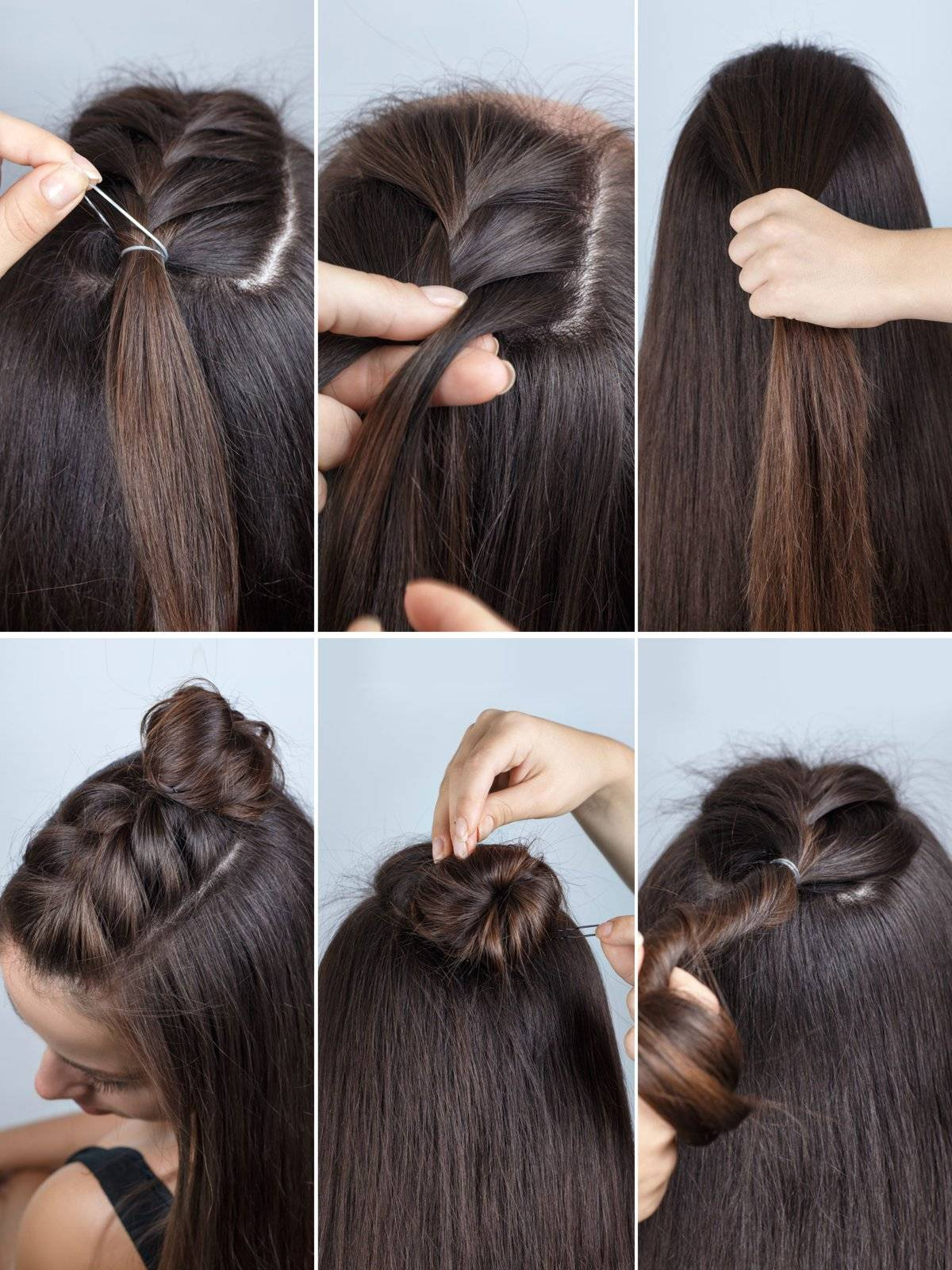 Hairstyles diy and tutorial for all hair lengths 044 | fashion