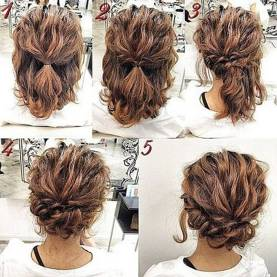 Hairstyles diy and tutorial for all hair lengths 085   fashion