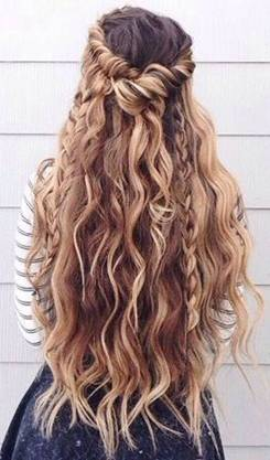 Hairstyles diy and tutorial for all hair lengths 090 | fashion