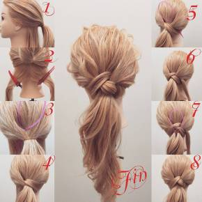 Hairstyles diy and tutorial for all hair lengths 116   fashion