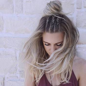 Hairstyles diy and tutorial for all hair lengths 141 | fashion