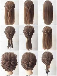 Hairstyles diy and tutorial for all hair lengths 165   fashion