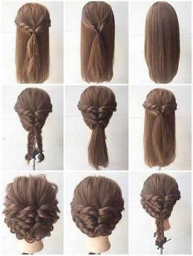 Hairstyles diy and tutorial for all hair lengths 165 | fashion
