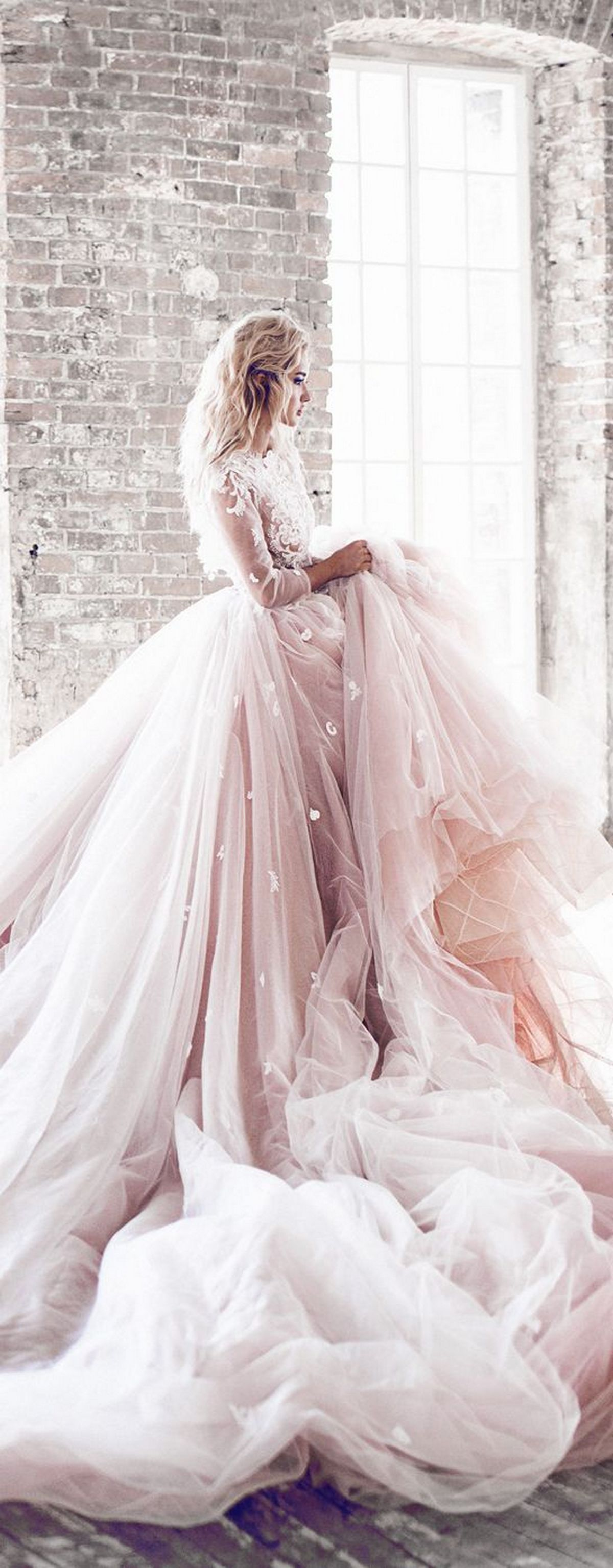 Pink sleeve dress idea for daily action 19 fashion