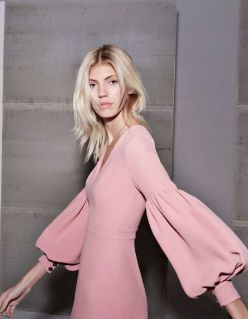 Pink sleeve dress idea for daily action 26 fashion
