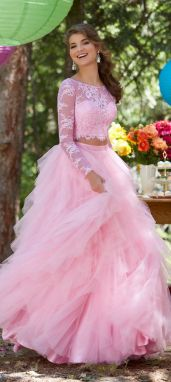 Pink sleeve dress idea for daily action 61 fashion