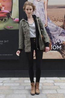 Rainy day cold weather outfit (14)