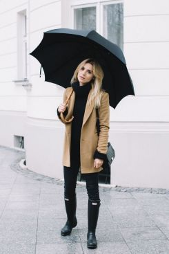 Rainy day cold weather outfit (16)