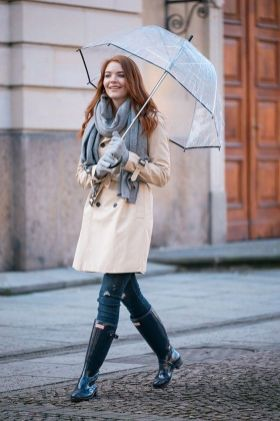 Rainy day cold weather outfit (18)
