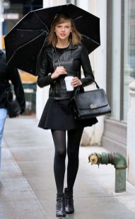 Rainy day cold weather outfit (23)