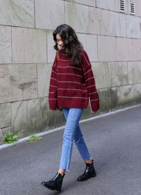 Rainy day cold weather outfit (3)