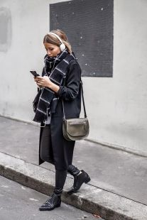 Rainy day cold weather outfit (47)