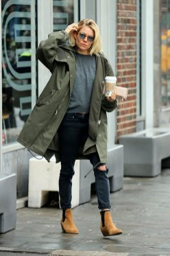 Rainy day cold weather outfit (54)