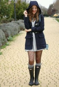 Rainy day cold weather outfit (63)