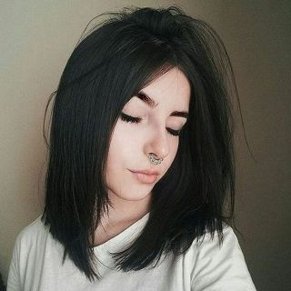 Stunning hairstyles for warm black hair ideas (12)