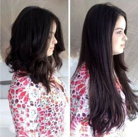 Stunning hairstyles for warm black hair ideas (26)