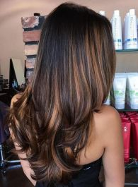 Stunning hairstyles for warm black hair ideas (44)