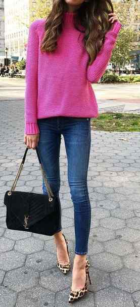 Sweaters outfit idea you should try this year (001) | fashion