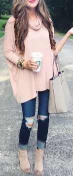Sweaters outfit idea you should try this year (015)   fashion