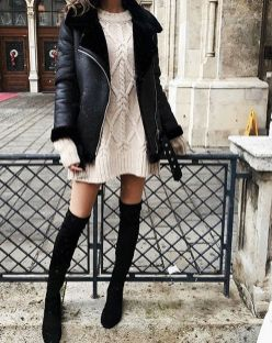 Sweaters outfit idea you should try this year (020) | fashion