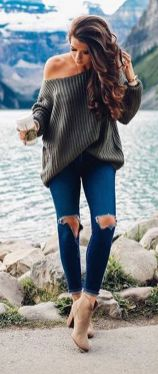 Sweaters outfit idea you should try this year (031)   fashion