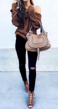 Sweaters outfit idea you should try this year (037)   fashion