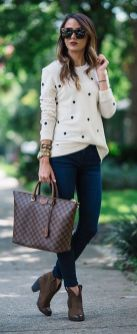 Sweaters outfit idea you should try this year (039) | fashion