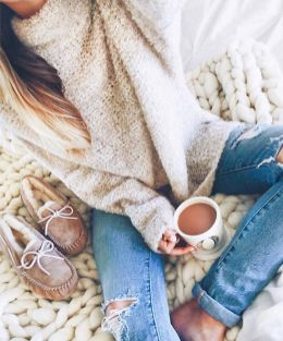 Sweaters outfit idea you should try this year (060) | fashion