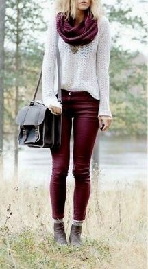 Sweaters outfit idea you should try this year (067)   fashion