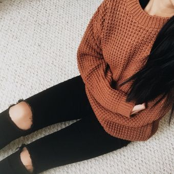 Sweaters outfit idea you should try this year (071) | fashion