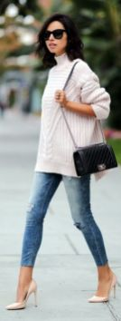 Sweaters outfit idea you should try this year (077)   fashion