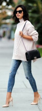 Sweaters outfit idea you should try this year (077) | fashion