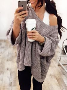 Sweaters outfit idea you should try this year (084) | fashion