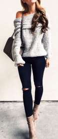 Sweaters outfit idea you should try this year (086) | fashion