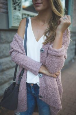 Sweaters outfit idea you should try this year (093)   fashion