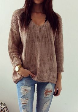 Sweaters outfit idea you should try this year (094) | fashion
