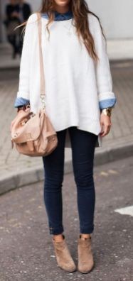 Sweaters outfit idea you should try this year (098) | fashion