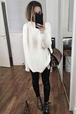 Sweaters outfit idea you should try this year (106)   fashion