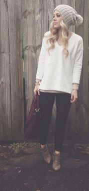 Sweaters outfit idea you should try this year (112) | fashion