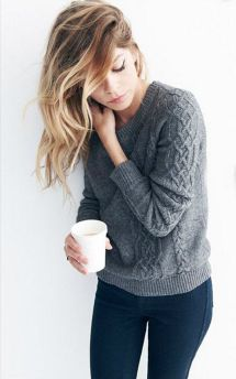 Sweaters outfit idea you should try this year (120) | fashion