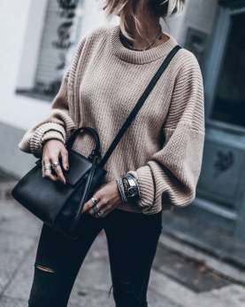 Sweaters outfit idea you should try this year (127) | fashion