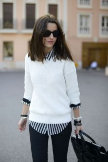 Sweaters outfit idea you should try this year (141) | fashion