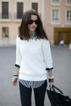 Sweaters outfit idea you should try this year (141)   fashion