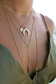 The Ultimate Layered Necklaces Idea - 12 | Fashion DressFitMe