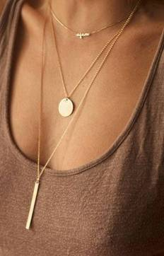 The Ultimate Layered Necklaces Idea - 18 | Fashion DressFitMe