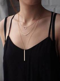 The Ultimate Layered Necklaces Idea - 40 | Fashion DressFitMe