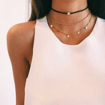 The Ultimate Layered Necklaces Idea - 47 | Fashion DressFitMe